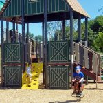 Children enjoying the Showman's Circle play area.